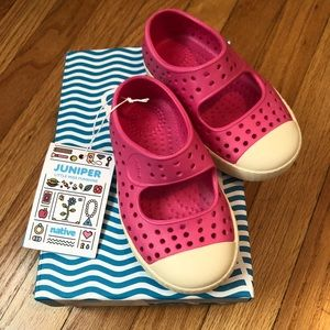 Native toddler juniper shoe